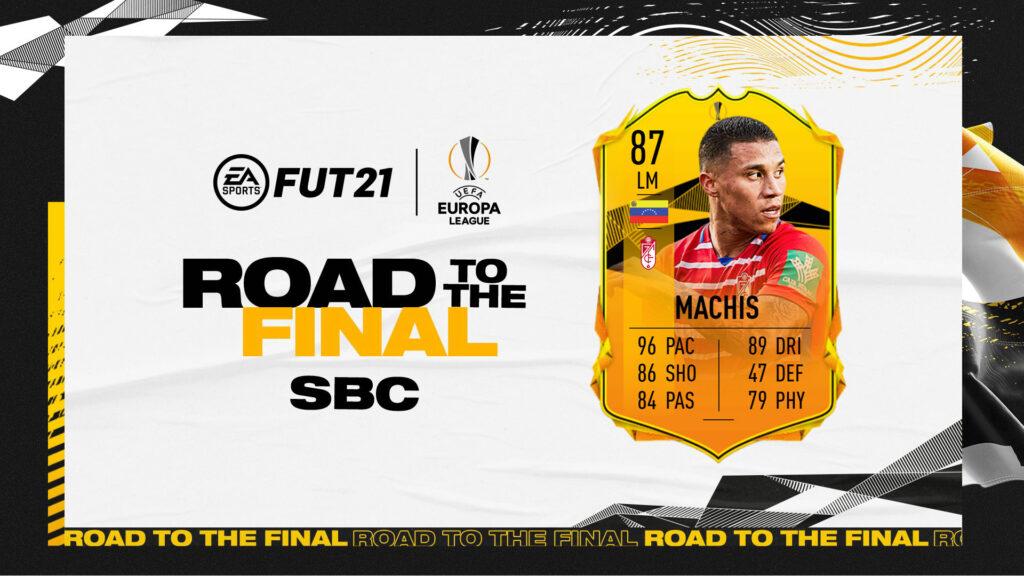 FIFA 21 - Ultimate Team - FUT - Machis RTTF Road to the final UEL SBC