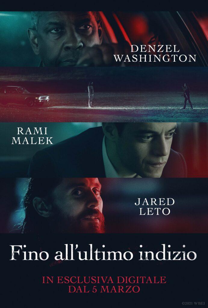 Fino all'ultimo indizio (Denzel Washington, Rami Malek, Jared Leto) - Poster