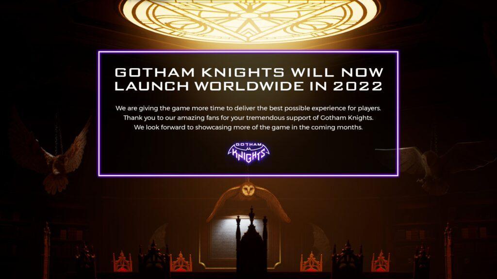 Gotham Knights 2022