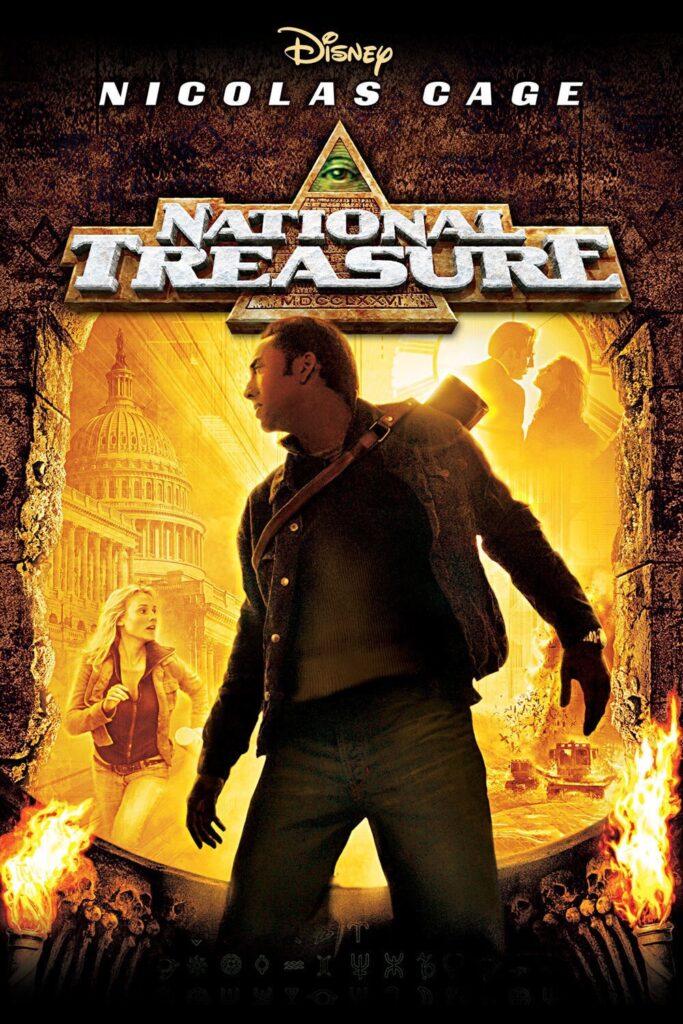Nicolas Cage National Treasure Disney