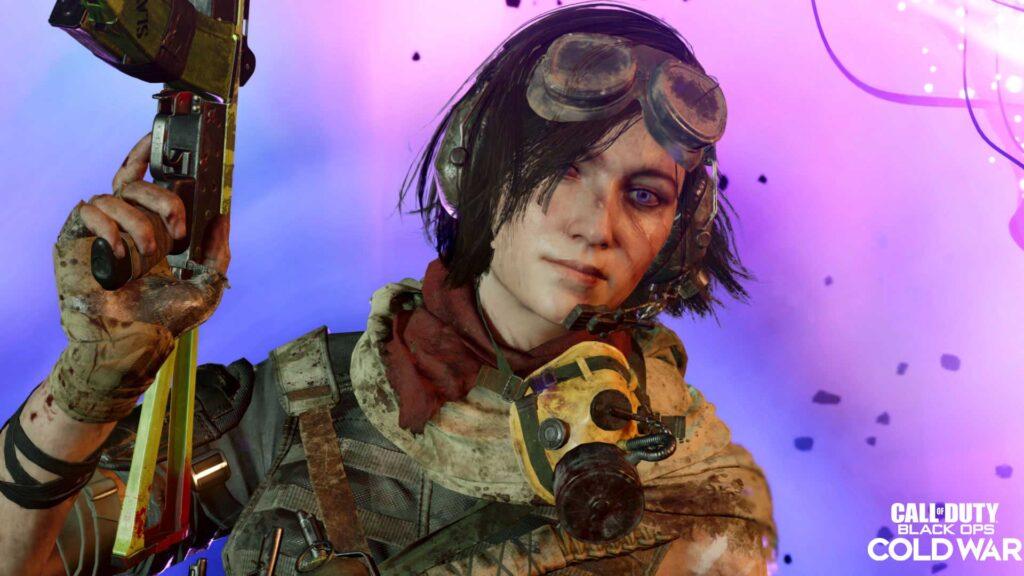 Call of Duty Cold War Samantha Maxis