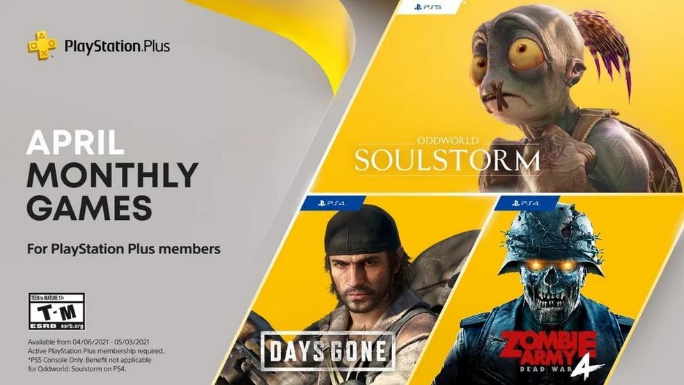 PlayStation Plus Aprile 2021 - Giochi Gratis Plus