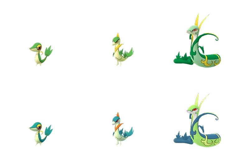 Pokémon GO community day snivy