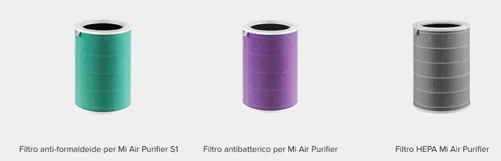 Xiaomi Mi Air Purifier 3H filtri
