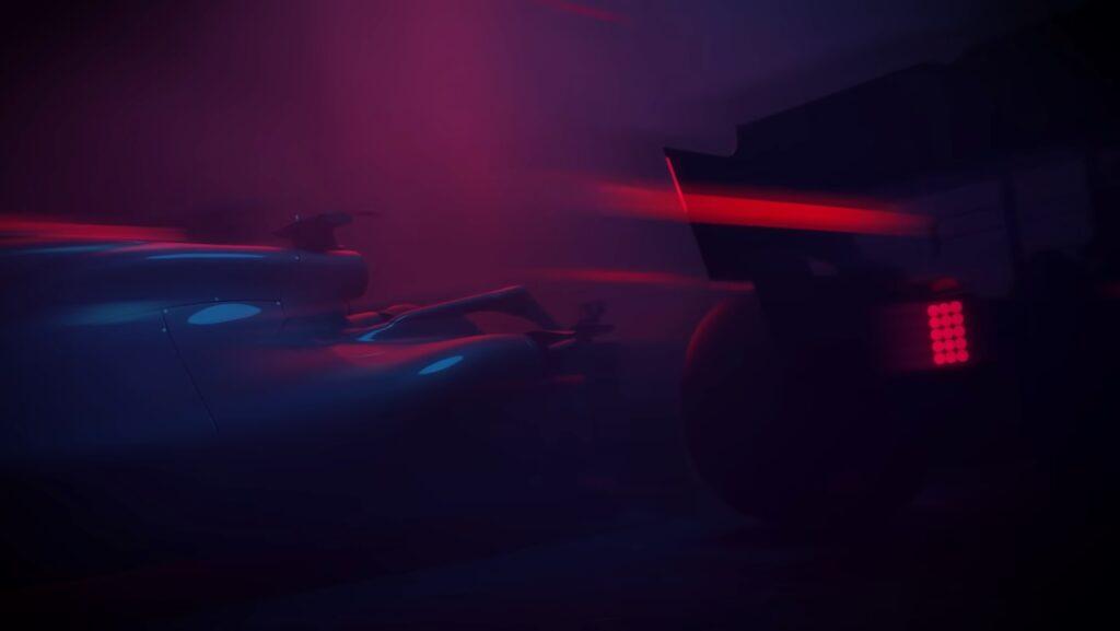 F1 2021 trailer cutscene