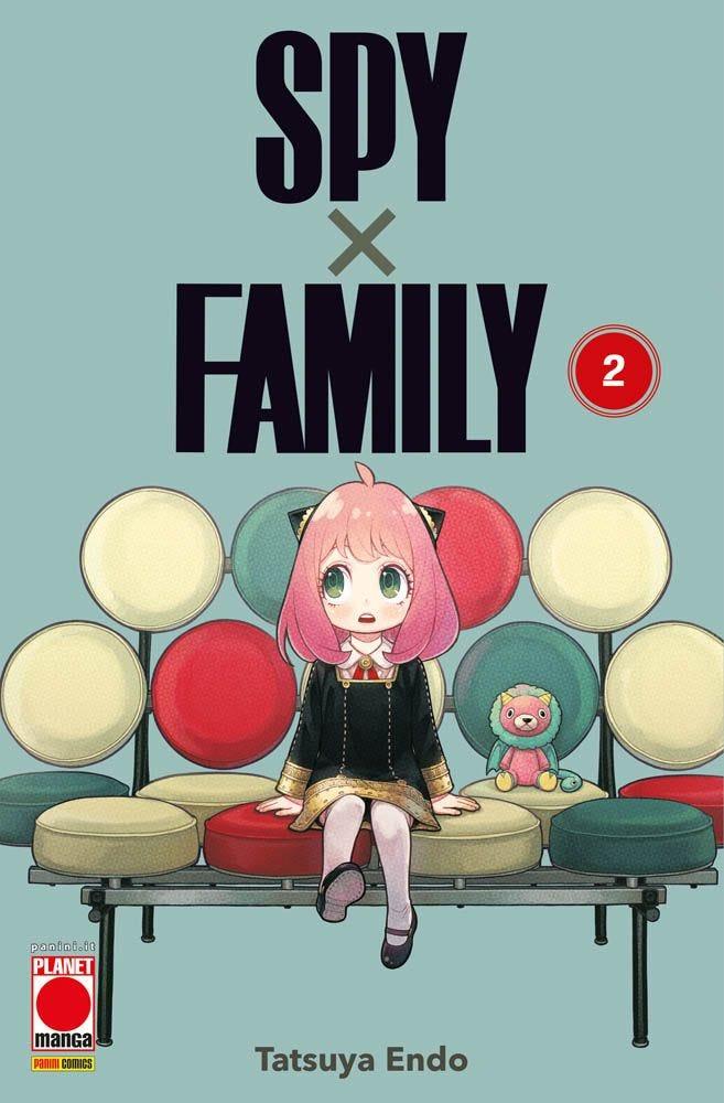 Spy x family Anya Planet Manga