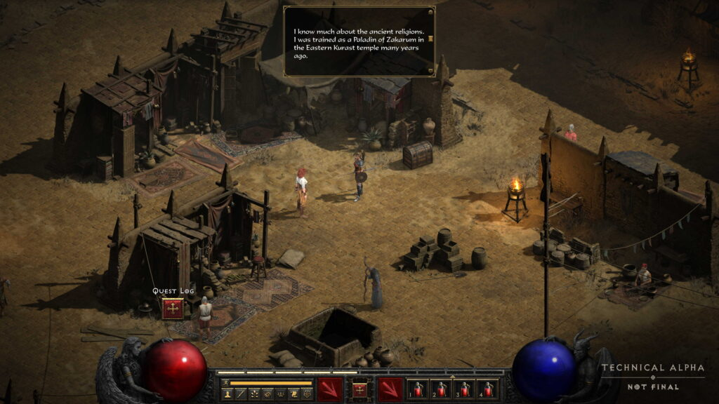 Diablo II Resurrected Alfa PC Gameplay Remastered