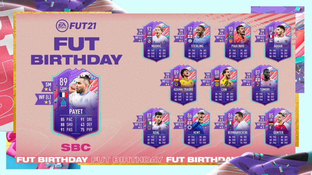 FIFA 21 Ultimate Team - Payet FUT Birthday
