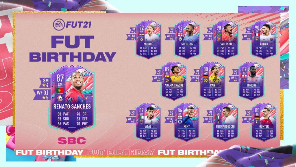 FIFA 21 Ultimate Team - Renato Sanches FUT Birthday