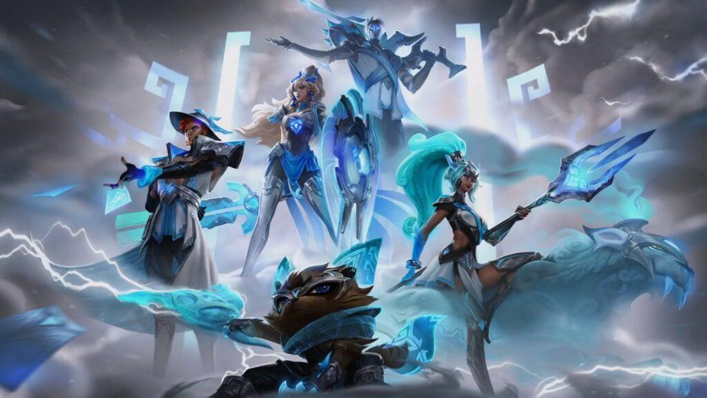 League of Legends skin campionato 2020