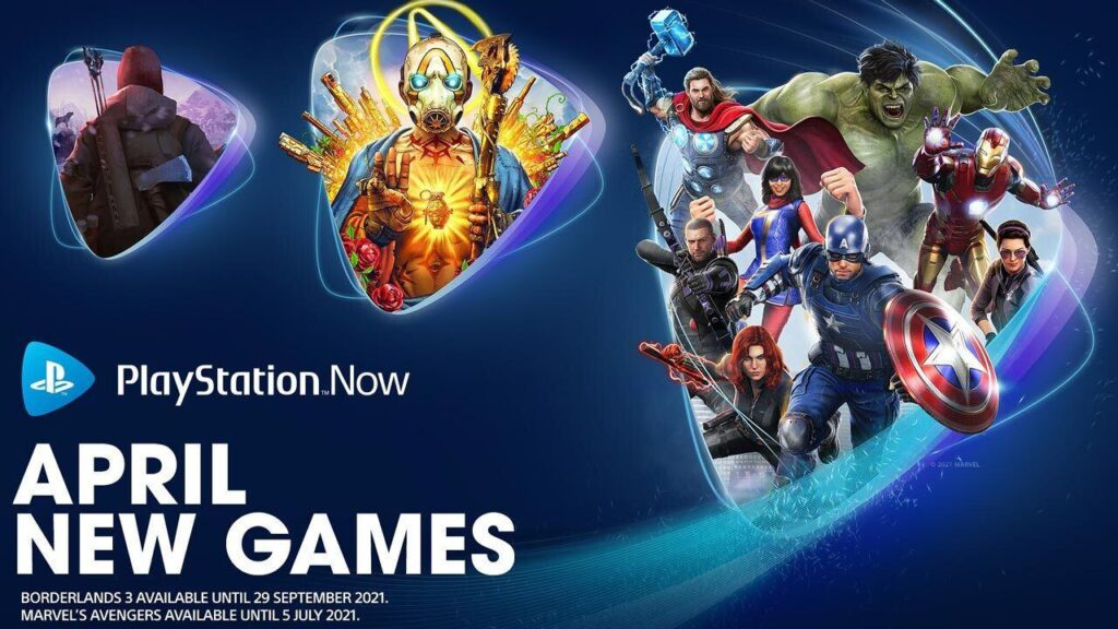 PlayStation Now aprile
