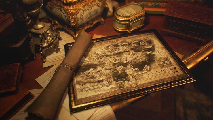 Resident Evil Village Mappa