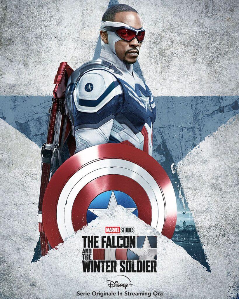 The Falcon and The Winter Soldier - Sam Wilson è Captain America