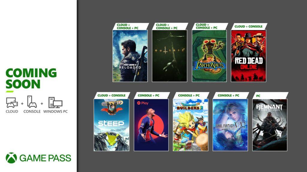 Xbox Game Pass nuovi titoli in arrivo