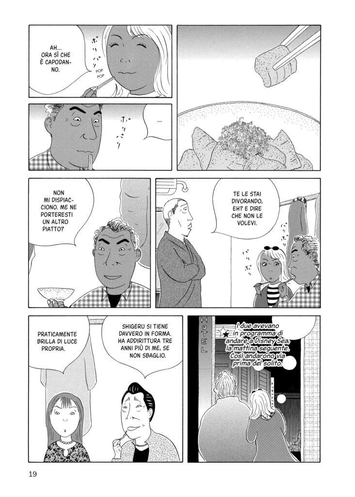 La taverna di mezzanotte  Yaro Abe