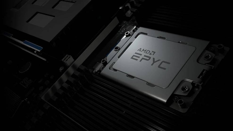 AMD EPYC processore server