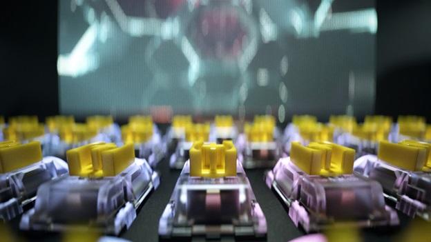 Yellow Switch blackwidow V3 mini hyperspeed