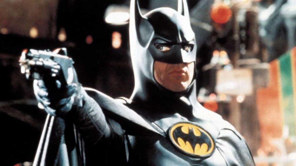 Il logo del Batman di Michael Keaton è molto simile a quello postato da Muschietti
