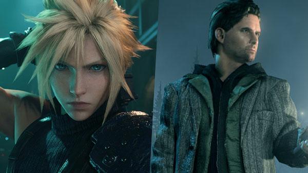Epic Games Store Epic Gmes Alan Wake Remastered Alan Wake Final Fantasy VII Remake Final Fantasy