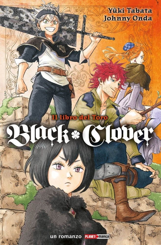 Black Clover Il libro del toro Planet Manga