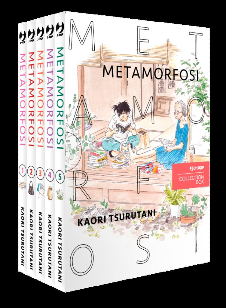 metamorfosi box j pop manga
