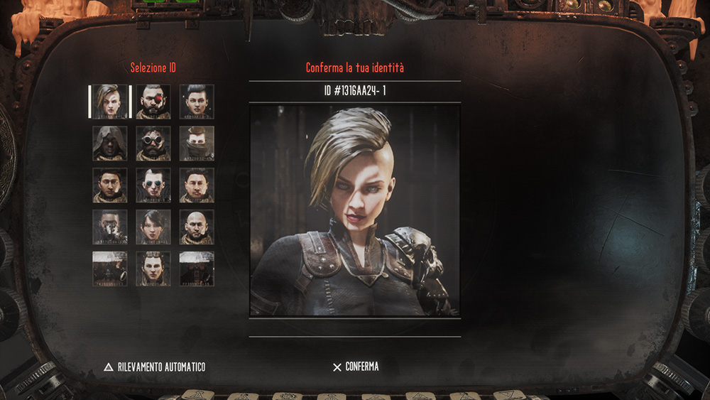 Necromunda Hired Gun personaggi selezionabili