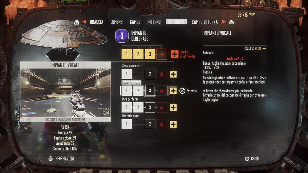 Necromunda: Hired Gun skill