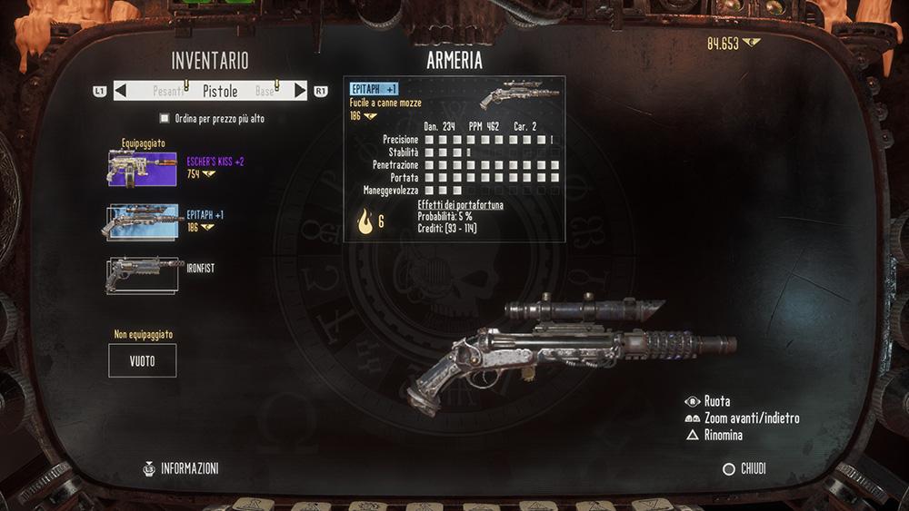 Necromunda personalizzazione armi