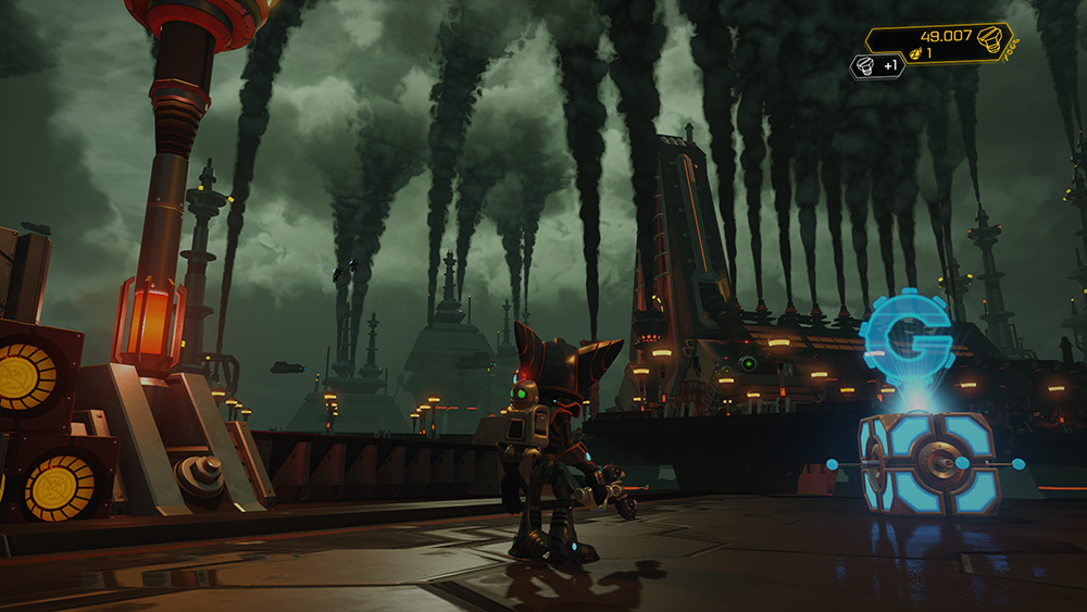 Ratchet and Clank screen 2