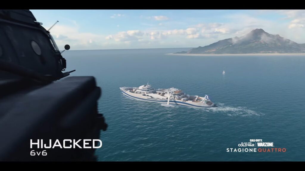 Call of Duty Black Ops Cold War Hijacked