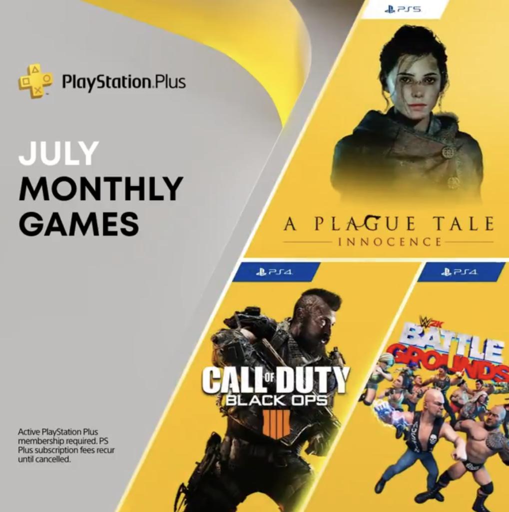 Giochi PS Plus Luglio 2021