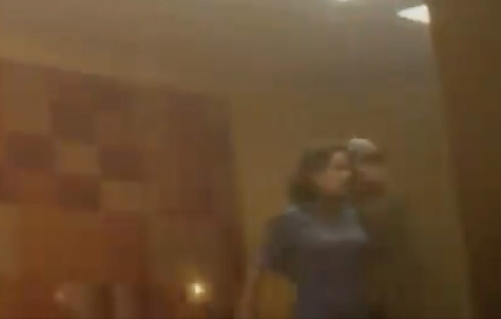 Il frame incriminato di Loki 1x01 - È davvero Peggy Carter?