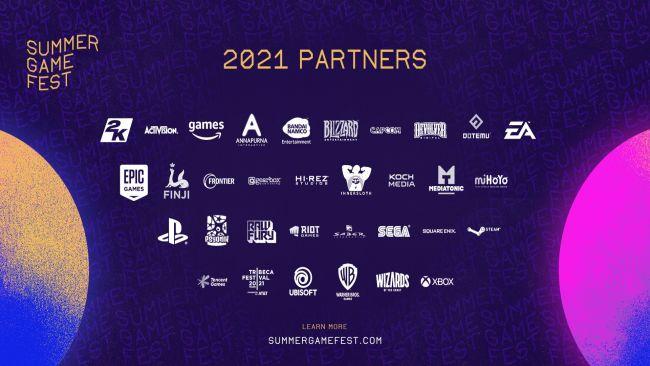 Summer Game Fest 2021 Partners