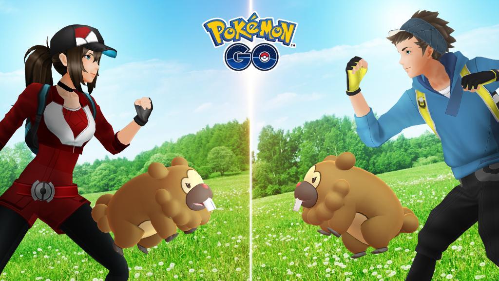 Pokémon GO Bidoof Evento