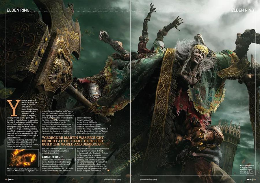 Elden Ring Copertina Play Magazine