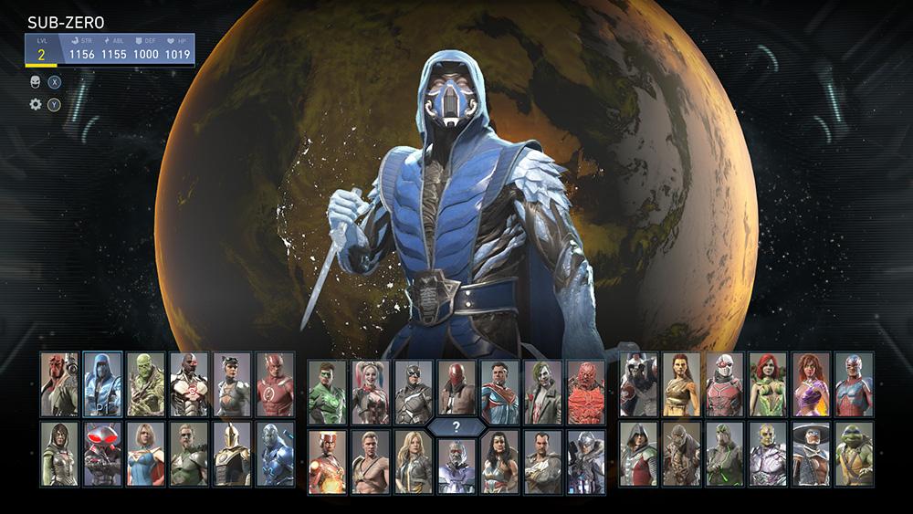 Injustice 2 crossover