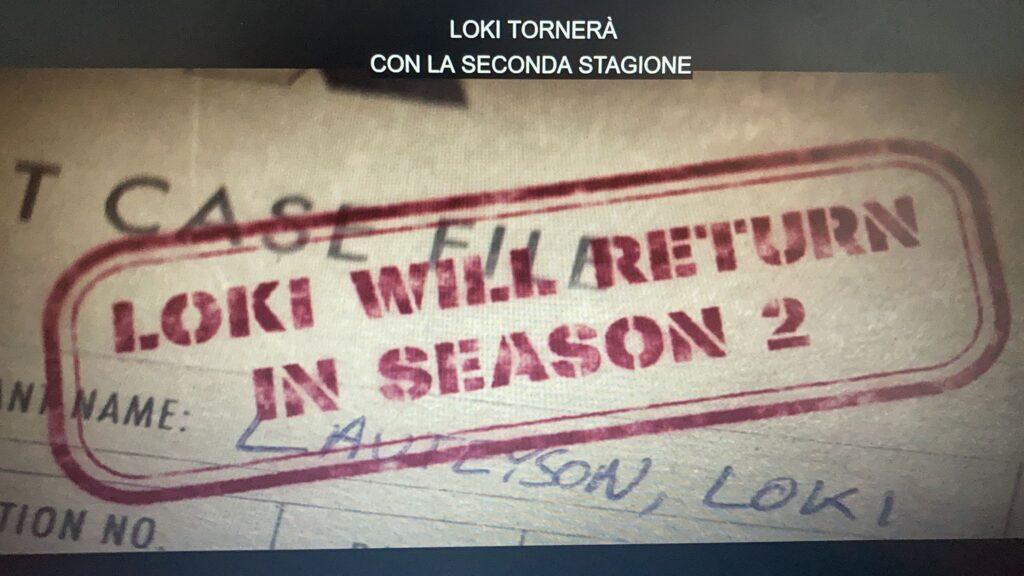 Loki seconda stagione