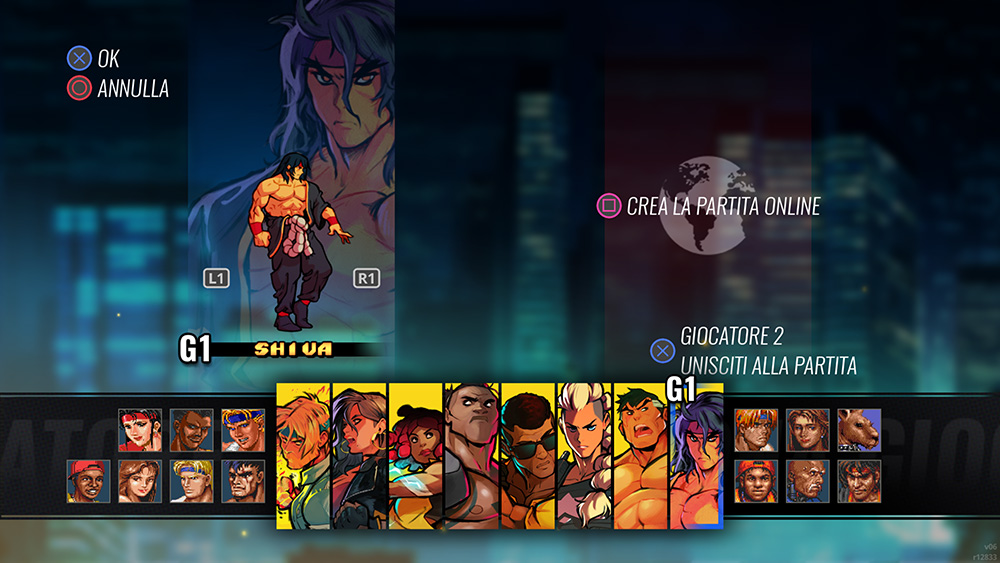 Streets of Rage 4 Mr. X Nightmare roster