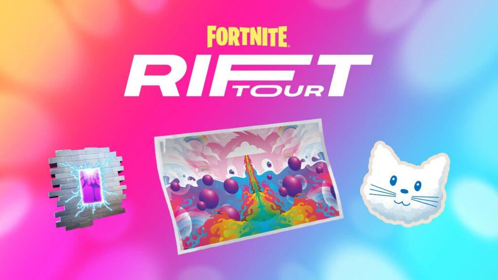 Fortnite evento Rift Tour Stagione 8
