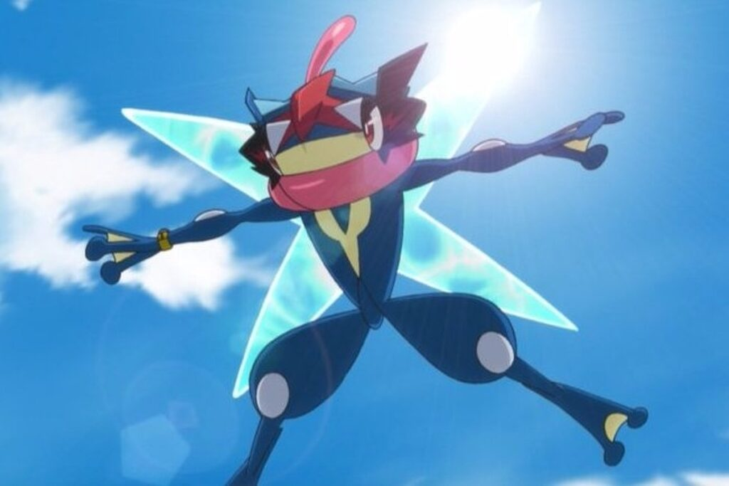 Pokémon GO Ash Greninja