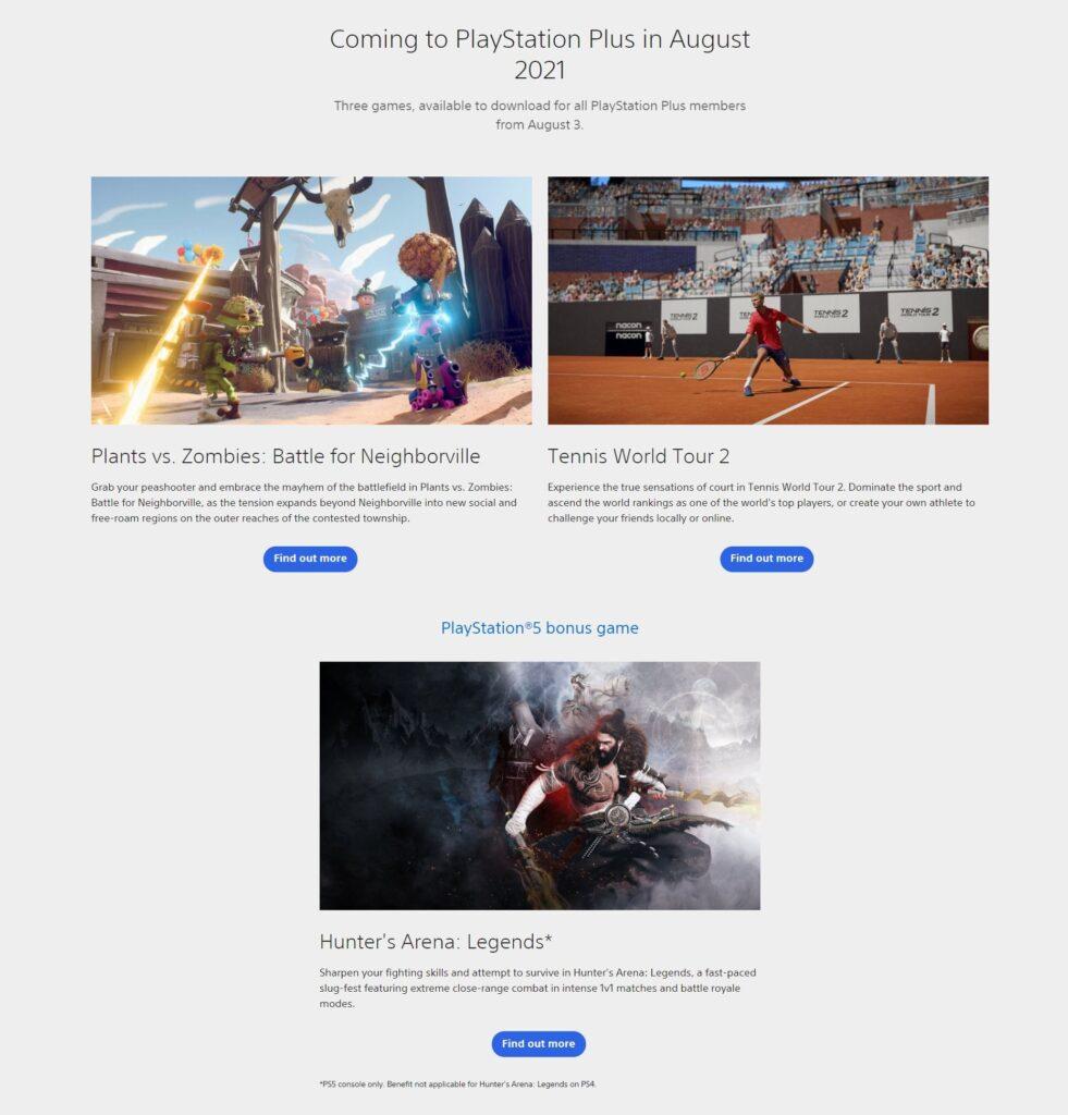Giochi PS Plus Agosto 2021 Leak Auto Spoiler