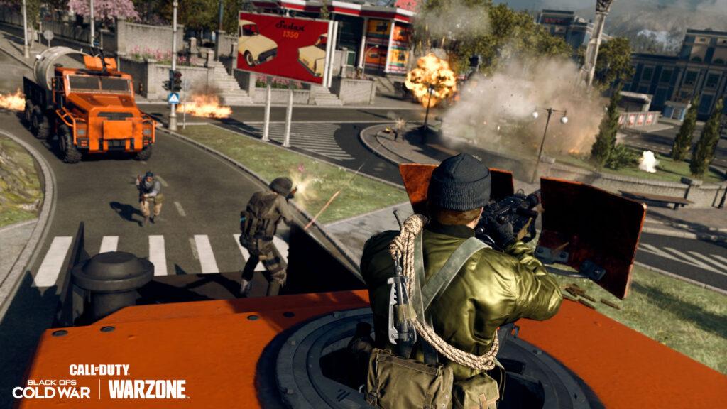 Call of Duty Warzone modalità Carico