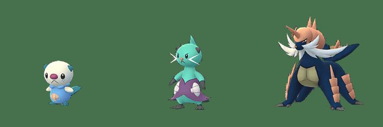 Pokémon GO Oshawott cromatico