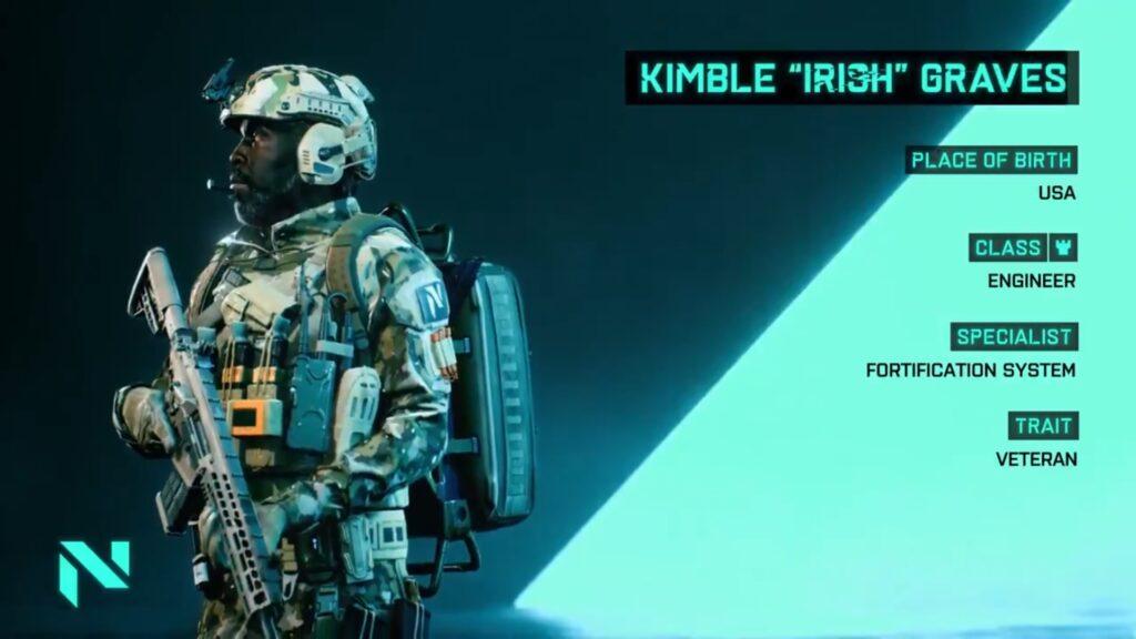 Battlefield 2042 Irish