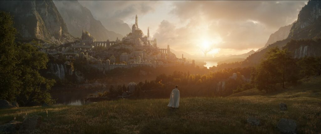 Il Signore degli Anelli, prima foto ufficiale serie Amazon Prime Video