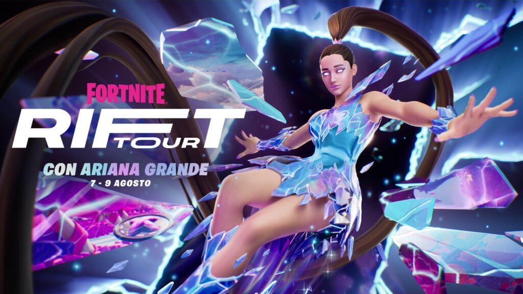 Fortnite Rift Tour Ariana Grande