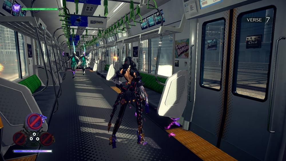 Bayonetta 3 gameplay treno