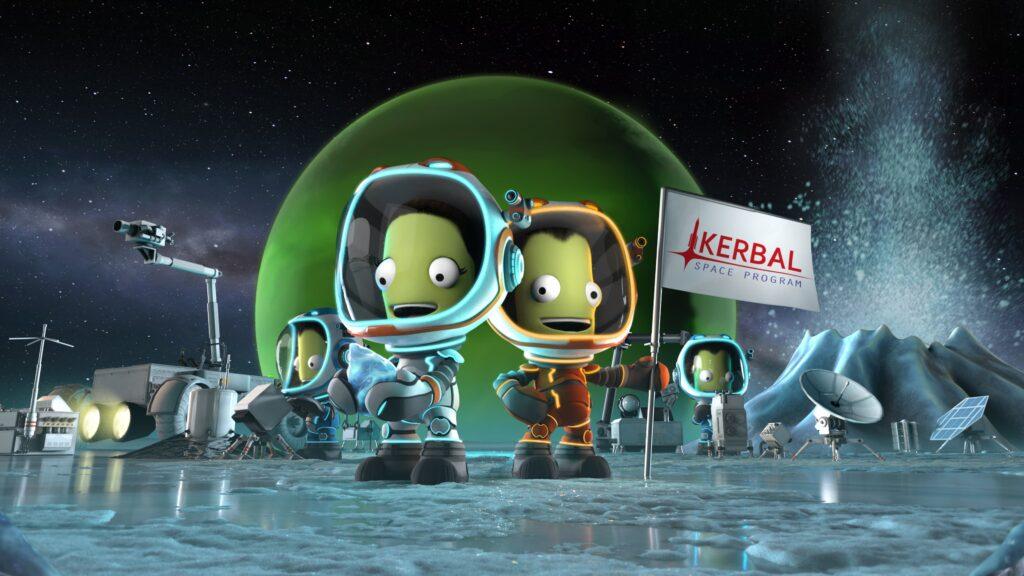 Kerbal Space Program Enhanced Edition Kerbal Space Program PlayStation 5 Playstation