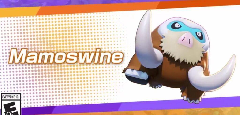 Pokémon Unite pokemon Mamoswine