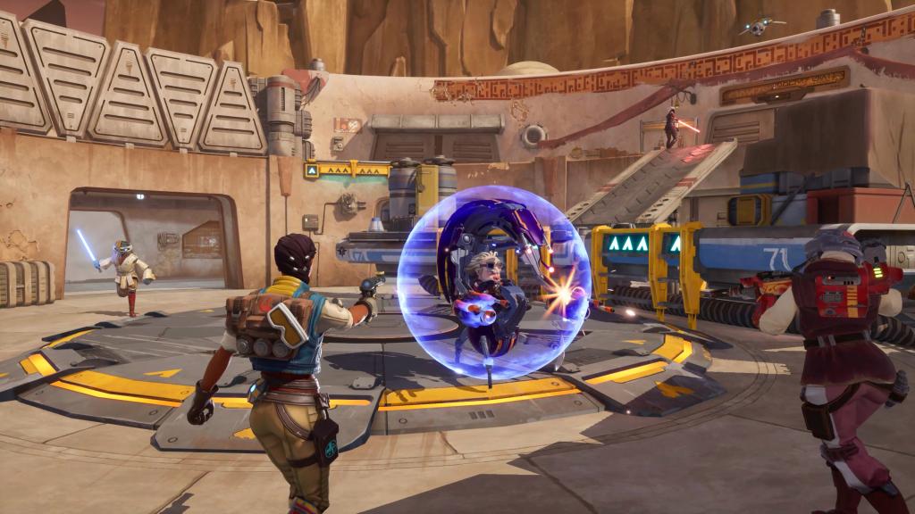 Star Wars Hunter arena